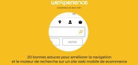 20 astuces pour améliorer la navigation et le moteur de recherche sur un site web mobile