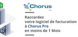Raccordez votre logiciel de facturation à Chorus Pro en moins de 1 Mois