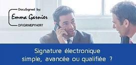 Signature simple, avancée, qualifiée : quel type de signature pour quel document ?