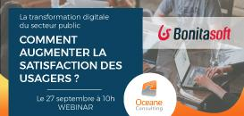 La transformation digitale du secteur public : comment augmenter la satisfaction des usagers ?