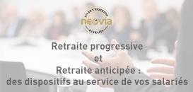 Retraite progressive et retraite anticipée : deux dispositifs au service de vos salariés