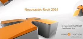 Tuto - nouveautés REVIT 2019 par Man and Machine