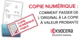 COPIE NUMERIQUE : Comment passer de l'original à la copie à valeur probante?
