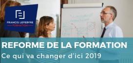 Réforme de la formation : ce qui va changer d'ici 2019