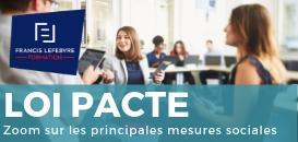 Projet de Loi PACTE : zoom sur les principales mesures sociales