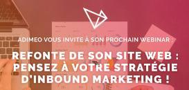 Refonte de votre site web : pensez à votre stratégie inbound marketing !