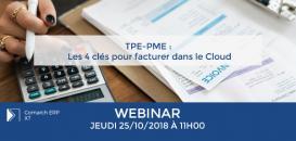 TPE-PME : Les 4 clés de succès pour facturer dans le Cloud