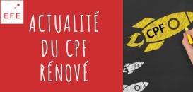 L'actualité du CPF rénové