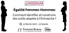 Égalité Femmes-Hommes : Comment identifier et construire des outils adaptés à l'Entreprise ?