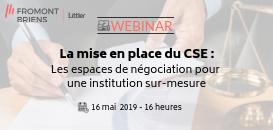 La mise en place du CSE : les espaces de négociation pour une institution sur-mesure