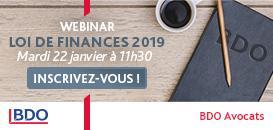 Loi de finances 2019 – Quels impacts pour les entreprises ?