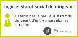 Logiciel Statut social du dirigeant