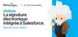 La signature électronique intégrée à Salesforce