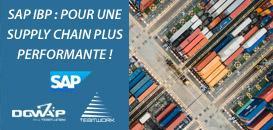 Accompagnez l'évolution de votre Supply Chain avec SAP IBP
