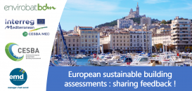 European Sustainable Building Assessments : Sharing Feedback !