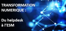 TRANSFORMATION NUMERIQUE : Du Helpdesk vers un portail unique orienté métier