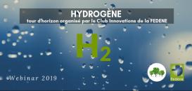 HYDROGENE - Tour d'horizon du Club Innovations de la Fedene