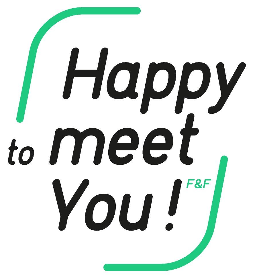 Happy to meet you