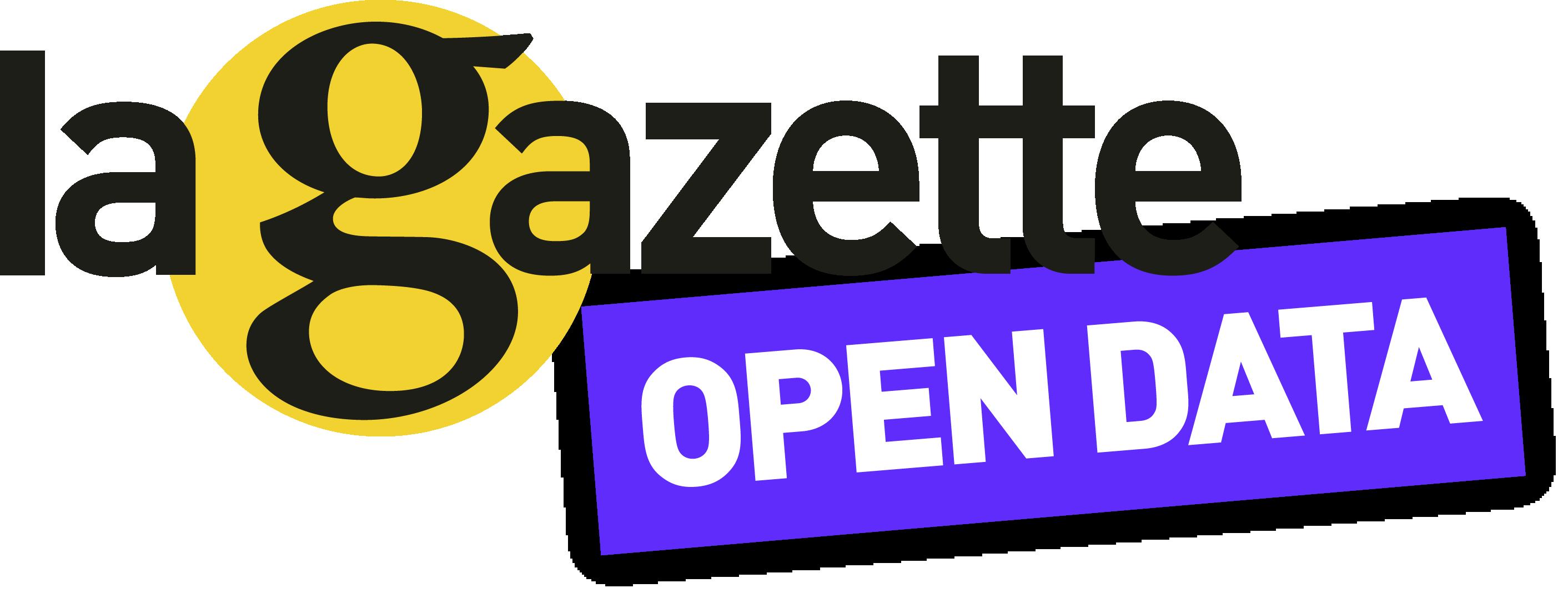 Open Data Gazette