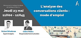 L'analyse des conversations clients : mode d'emploi