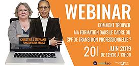 Trouver ma formation dans le cadre du CPF de Transition Professionnelle