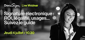 Signature électronique : ROI, légalité, usages… Suivez le guide !