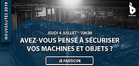 Transformation numérique - Avez-vous pensé à sécuriser vos machines et objets ? – Nouveautés 2019