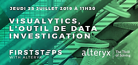 Premiers pas avec Alteryx : Visualytics, l'outil de data investigation