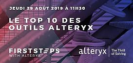 Premiers pas avec Alteryx : le top 10 des outils Alteryx