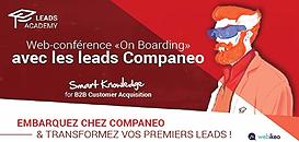 « On Boarding » : Embarquez chez Companeo et transformez vos premiers leads !