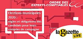 Élections municipales 2020 : règles et obligations des candidats pour leurs comptes de campagne