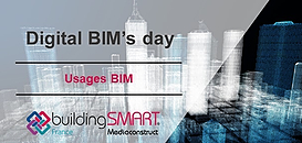 Digital BIM's day : au coeur des usages BIM