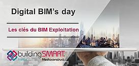 Digital BIM's day : les clés du BIM exploitation... moi GEM !