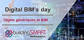 Digital BIM's day : Pourquoi travailler avec des objets génériques dans le BIM ?