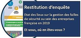 Etat de l'art de la sécurité IT en France - Et vous, comment maîtrisez-vous la sécurité et la fiabilité de votre SI ?