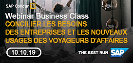 Concilier les besoins des entreprises et les nouveaux usages des voyageurs d'affaires ?