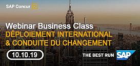 Déploiement international et conduite du changement (avec SCOR & PwC)