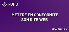 RGPD : Mettre en conformité son site Web