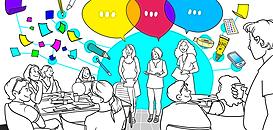 Halte aux réunions d'équipes ennuyeuses. Boostez-les avec des méthodes collaboratives et créatives !