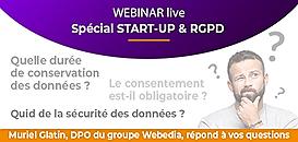 Start-up et RGPD : posez toutes vos questions, notre DPO vous répond en direct !