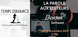 """GTA - """"La Parole aux Editeurs"""" : Bodet Software"""