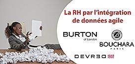 Devred, Burton et Bouchara simplifient leurs processus RH par l'intégration de données agile