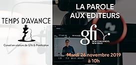 """GTA - """"La Parole aux Editeurs"""" : GFI Chronotime"""