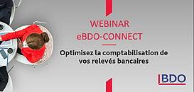 eBDO connect : Optimiser la comptabilisation de vos relevés bancaires