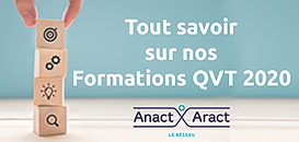 Découvrez les nouveautés 2020 de l'offre de formation du réseau Anact-Aract