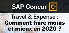 Travel & Expense : comment faire moins et mieux en 2020 ?