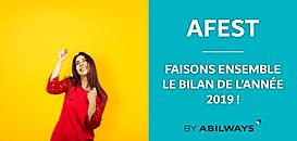 L'AFEST : faisons ensemble le bilan de l'année 2019 !