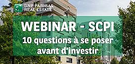 SCPI : 10 questions à se poser avant d'investir