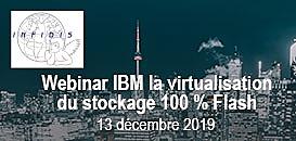 Tout connaître sur la virtualisation du stockage 100% Flash IBM
