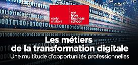 Les métiers de la transformation digitale